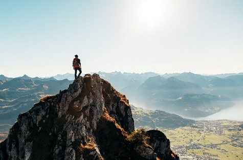 set goals, marketing from the mountain top