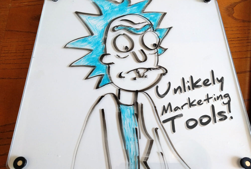 Unlikely Marketing Tools: Personal Whiteboard
