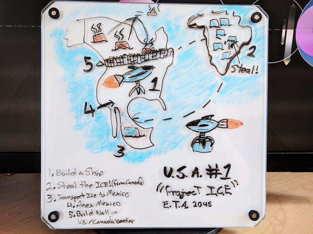 personal whiteboard project I.C.E
