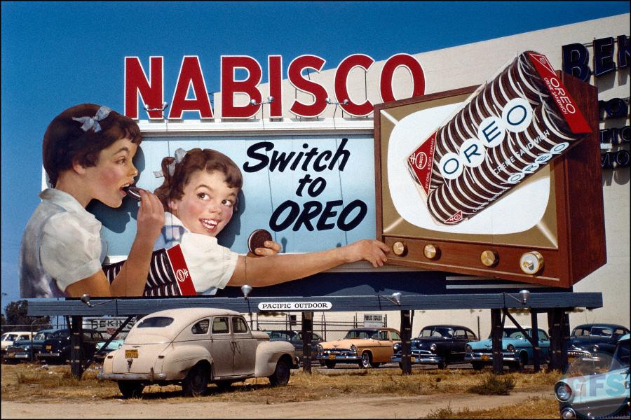 Switch to Oreo Billboard