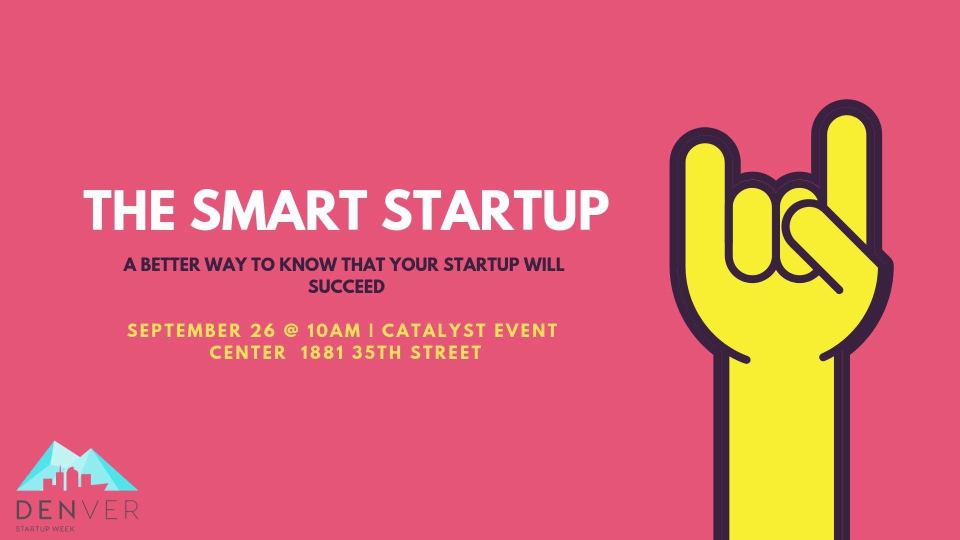 The Smart Startup Event Denver Startup Week